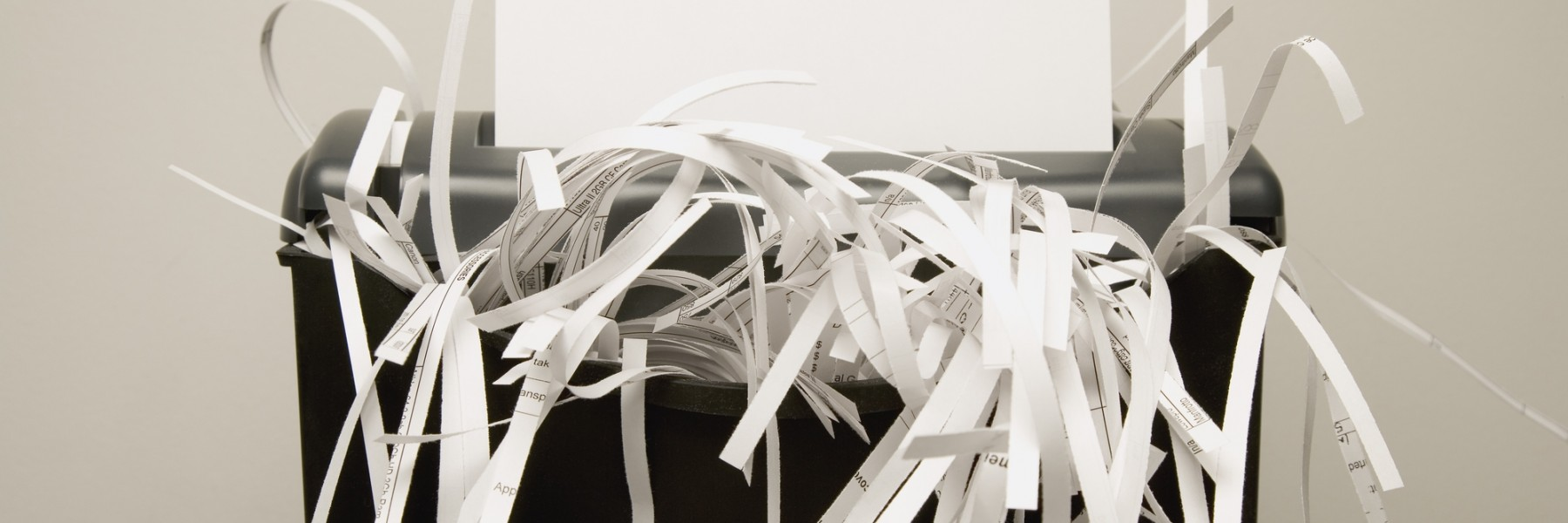 How To Shred Wet Documents