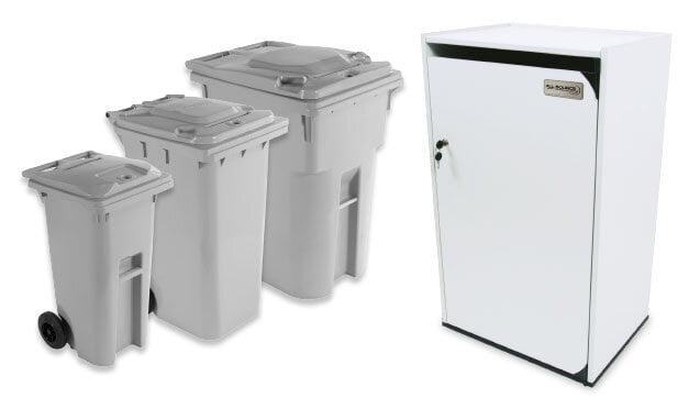 rent shredding-bins