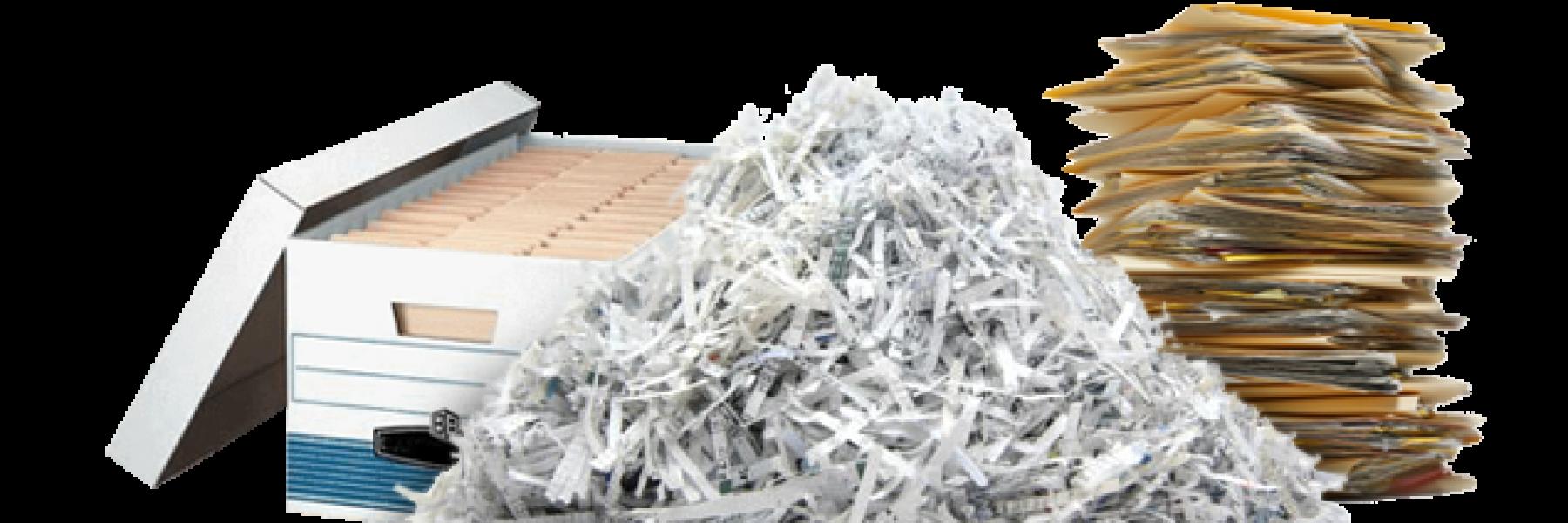 Paper shredding boston