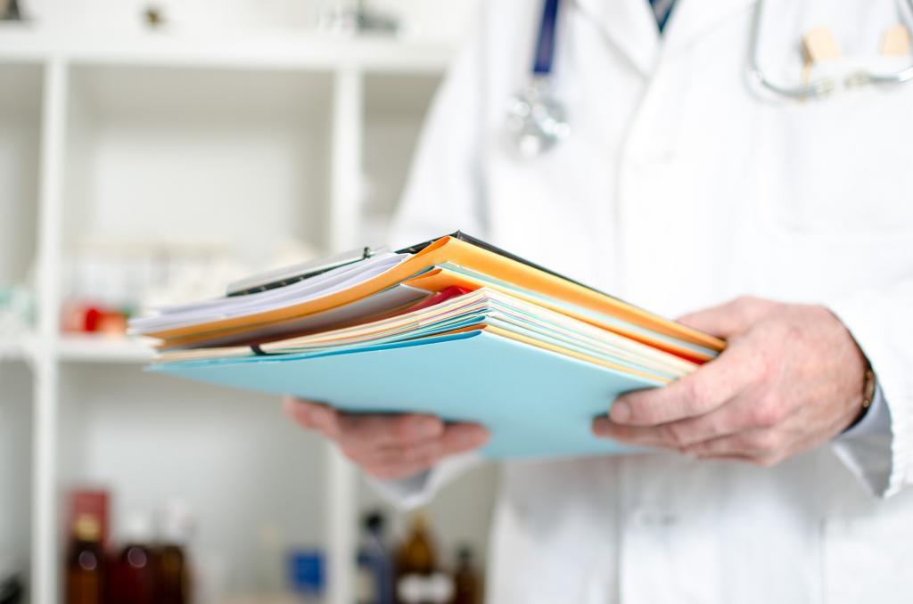 Medical document shredding service